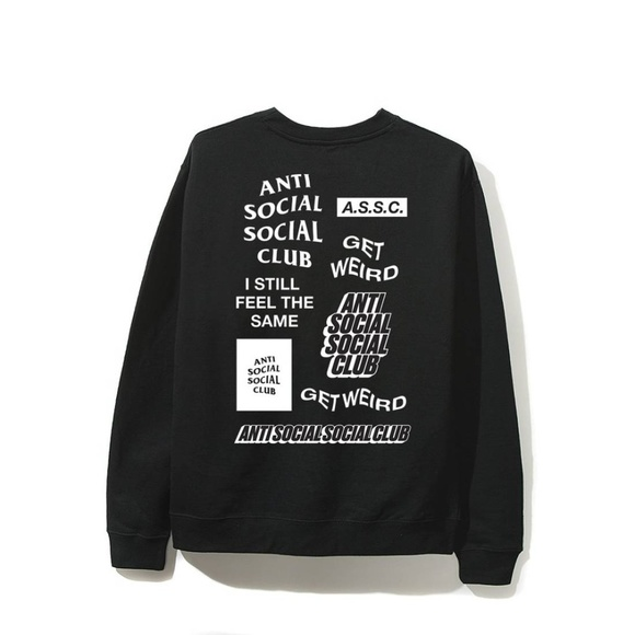 bb17013b2a11 Anti Social Social Club Shirts | Bukake Long Sleeve Tee | Poshmark